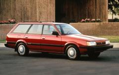 1991 Subaru Loyale exterior