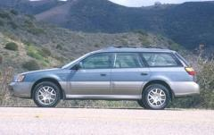 2000 Subaru Outback exterior