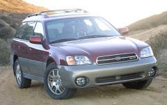 2002 Subaru Outback exterior
