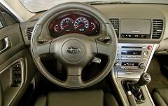 2005 Subaru Outback Sport interior