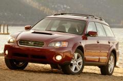 2007 Subaru Outback exterior