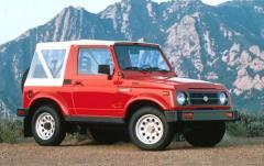 1991 Suzuki Samurai exterior