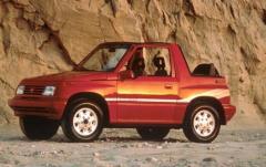 1990 Suzuki Sidekick exterior
