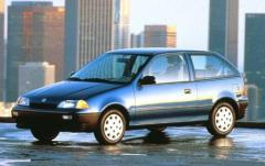 1992 Suzuki Swift exterior