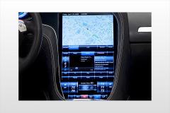2013 Tesla Model S interior