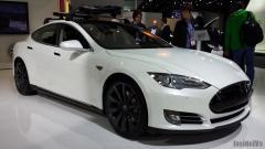 2014 Tesla Model S Photo 3