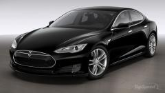 2015 Tesla Model S Photo 1
