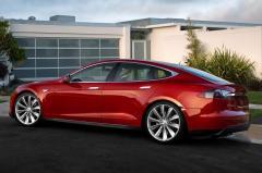 2015 Tesla Model S exterior