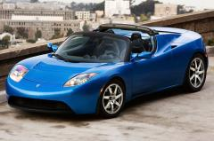 2010 Tesla Roadster exterior