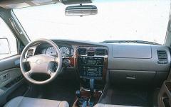 2000 Toyota 4Runner interior