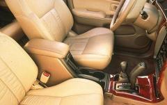 2001 Toyota 4Runner interior