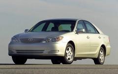 2002 Toyota Camry exterior
