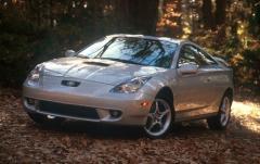 2000 Toyota Celica exterior