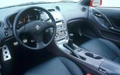 2000 Toyota Celica interior