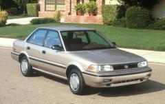 1991 Toyota Corolla exterior