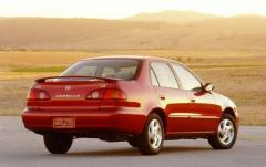 2001 Toyota Corolla exterior