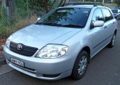 2001 Toyota Corolla Photo 4