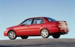 2002 Toyota Corolla exterior