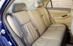 2003 Toyota Corolla interior