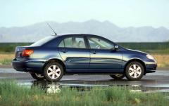 2004 Toyota Corolla exterior
