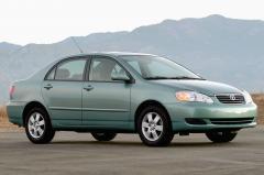 2007 Toyota Corolla exterior