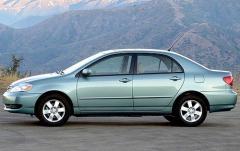 2008 Toyota Corolla exterior