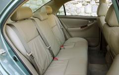 2008 Toyota Corolla interior