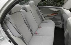 2009 Toyota Corolla interior