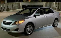 2010 Toyota Corolla S 4-Speed AT exterior