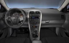 2011 Toyota Corolla interior