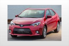 2014 Toyota Corolla exterior