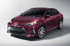 2017 Toyota Corolla exterior