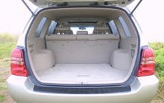 2001 Toyota Highlander exterior