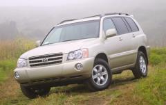 2002 Toyota Highlander exterior