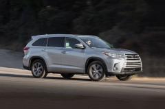 2017 Toyota Highlander exterior