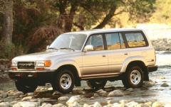 1993 Toyota Land Cruiser exterior