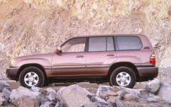 1998 Toyota Land Cruiser exterior