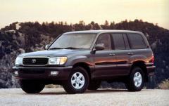 1999 Toyota Land Cruiser exterior