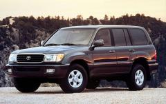 2000 Toyota Land Cruiser exterior
