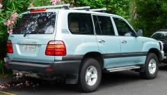2001 Toyota Land Cruiser Photo 4