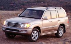 2003 Toyota Land Cruiser exterior