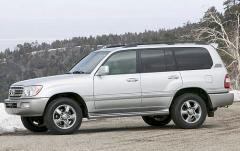 2006 Toyota Land Cruiser exterior