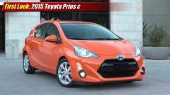 2015 Toyota Prius c Photo 1