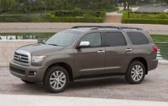 2012 Toyota Sequoia exterior