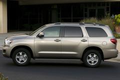 2013 Toyota Sequoia exterior