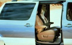 2002 Toyota Sienna interior