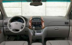 2008 Toyota Sienna interior