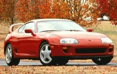 1997 Toyota Supra exterior