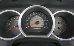 2005 Toyota Tacoma interior