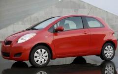 2009 Toyota Yaris exterior
